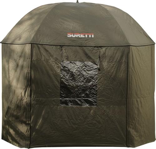 Egerfish Deštník s bočnicí Suretti Full Cover 2 Man 3,2 m NYLON