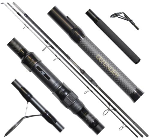 Prut JRC Contact LR Carp 333 cm - 3 lbs - 3 díly + druhý zdarma