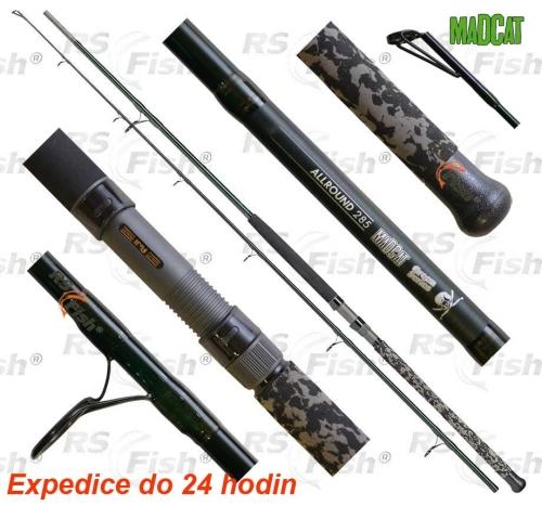 DAM® Prut MADCAT Green Allround 285 cm 100 - 250 g