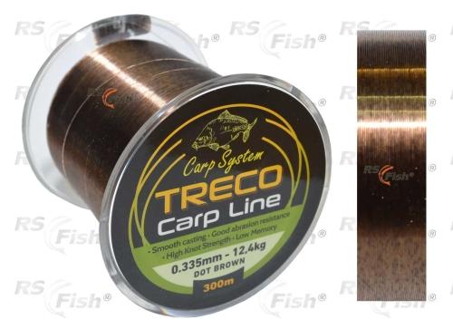 JSA Vlasec Carp System Treco Carp Line Brown 0,355 mm