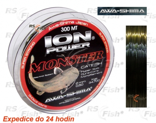 Awa-S® Vlasec Awa-shima ION Power Monster Catfish 0,50 mm