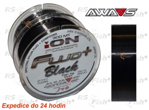 Awa-S® Vlasec Awa-S ION Power Fluo Black 0,234 mm