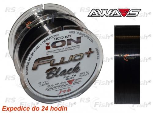 Awa-S® Vlasec Awa-S ION Power Fluo Black 0,286 mm