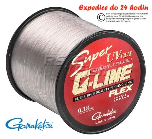 Gamakatsu® Vlasec Gamakatsu Super G-Line Flex 0,240 mm