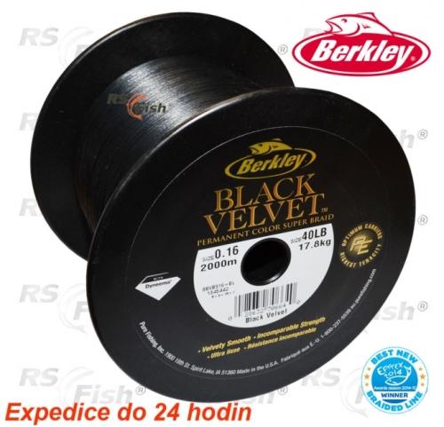 Berkley® Šňůra Berkley Black Velvet 0,08 mm