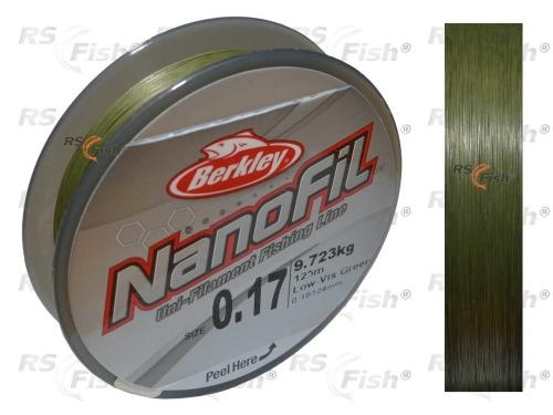 Berkley® Berkley Nanofil Green - 125 m 0,17 mm