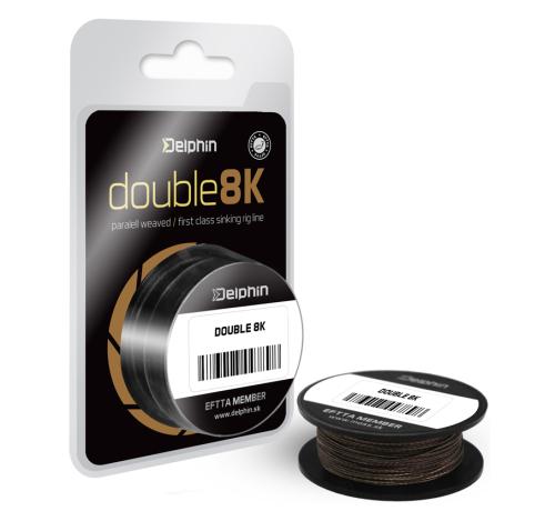 Delphin® Šňůra návazcová FIN® Hook Line Double 8K 25 lbs - 11,40 kg