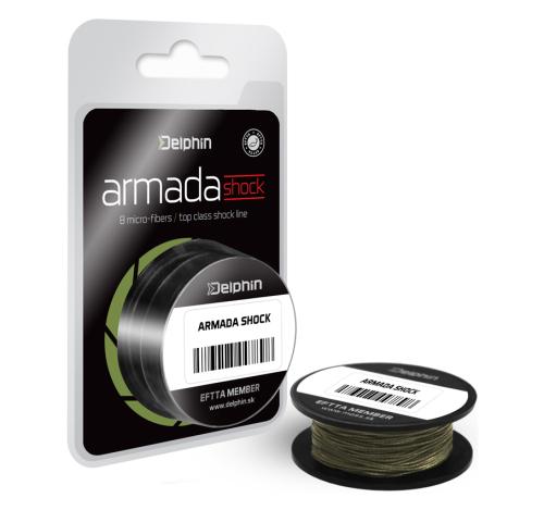 Delphin® Šňůra návazcová FIN® Armada Shock 18,00 kg