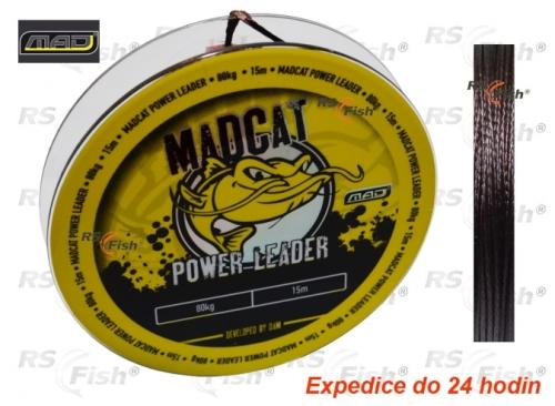 DAM® Šňůra sumcová MAD Power Leader 130,0 kg