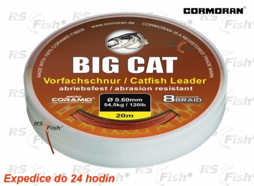 Cormoran® Šňůra sumcová Cormoran Big Cat 8 Braid 0,80 mm