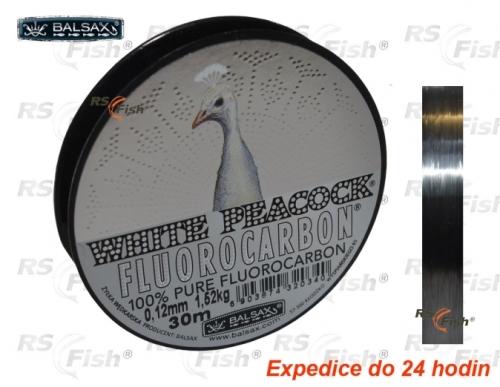 Balsax® Vlasec Balsax White Peacock Fluorocarbon 0,08 mm