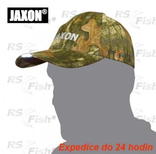 Jaxon® Kšiltovka Jaxon s čelovkou - kamufláž