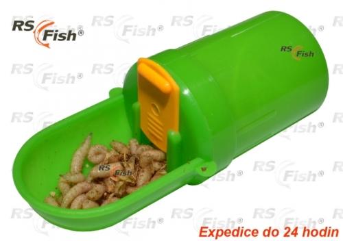 RS Fish® Krabička na živé návnady výsuvná