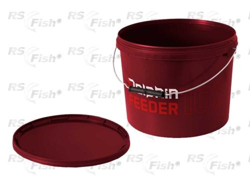 Traper® Vědro Delphin Feeder - okrouhlé s víkem 10 litrů