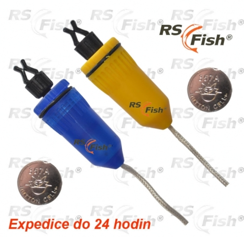RS Fish® Čihátko RS Fish - svítící červená