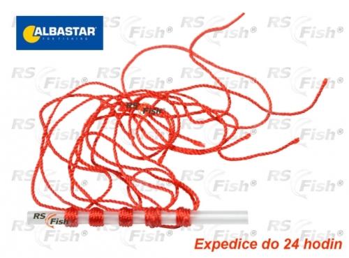 Albastar® Zarážka na splávky Albastar - bavlnka červená tenká