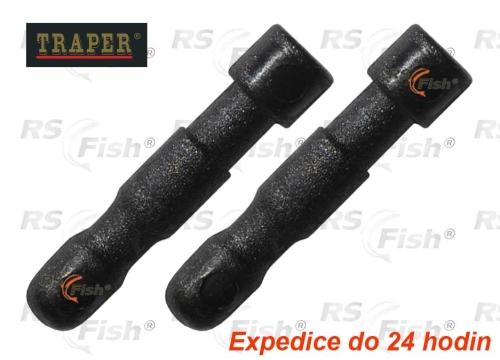 Traper® Spojka na prak - prak / guma - Ø 3,5 mm