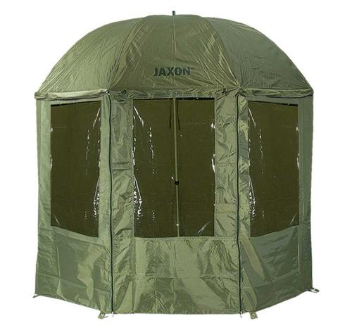 Jaxon® Deštník s bočnicí Jaxon 2,5 m s PVC zátěrem 040