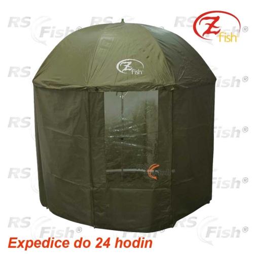 Zfish® Deštník s bočnicí Zfish Royal Full Cover 2,5 m