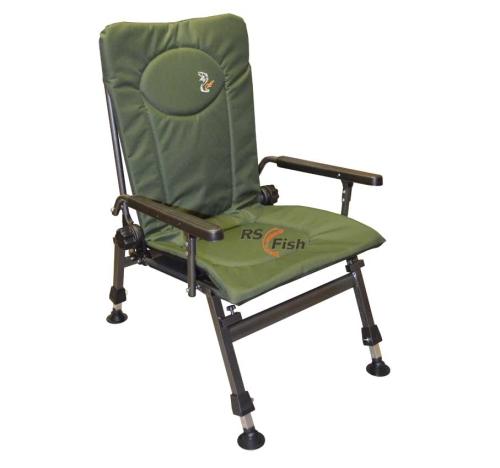 M Elektrostatyk® Křeslo rybářské F5R - barva zelená