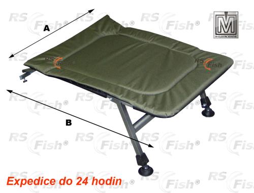 M Elektrostatyk® Podnožka ke křeslu FK5 - barva zelená