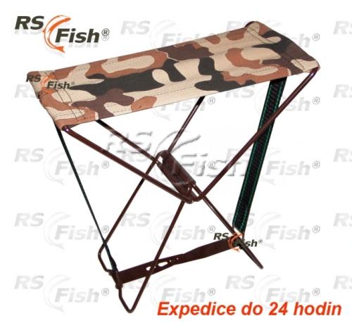 RS Fish® Stolička rybářská RS Fish - skládací malá
