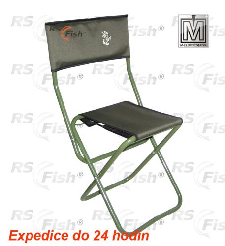 M Elektrostatyk® Křeslo rybářské s opěrkou WP5ZO