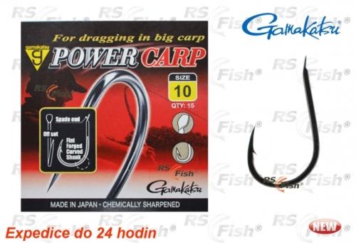 Gamakatsu® Háček Gamakatsu Power Carp NSB 10