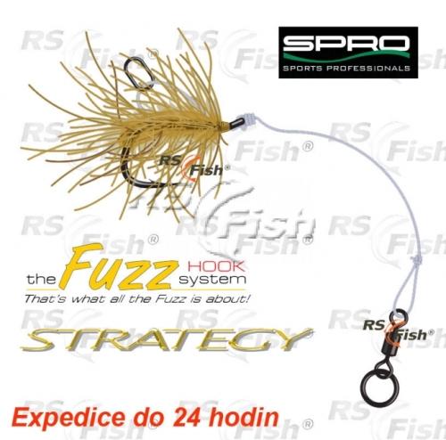 SPRO® Návazec na boilie Strategy Fuzz Chod Rig - barva písek