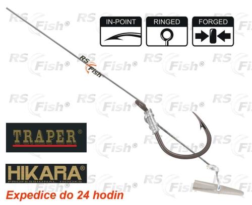 Traper® Návazec HIKARA® Method Feeder Classic - Quick háček 12 / Ø vlasce 0,22 mm - 31824
