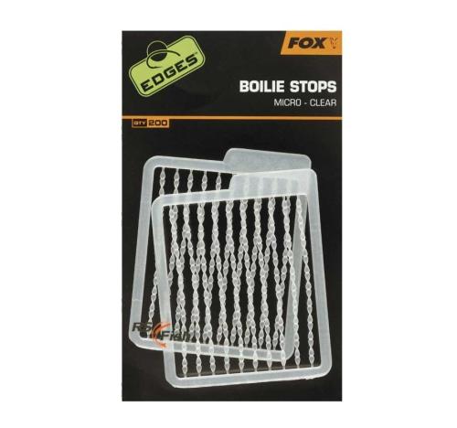 FOX® Zarážka na boilies FOX Edges Boilie Stops Micro CAC592