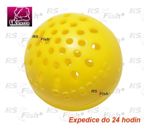 Kontejner na návnadu LK Baits Karpela Cont Bloodworm - barva žlutá