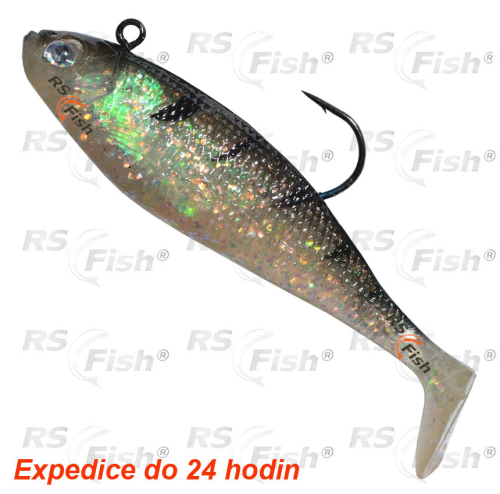 Storm™ Storm WildEye Swim Shad - barva Ghost Frost 110 mm - WSS04GHF