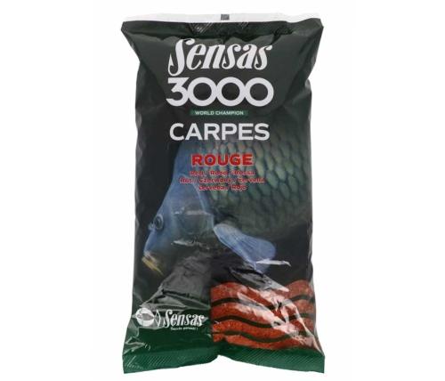 Sensas® Krmítková a vnadící směs Sensas 3000 Rouge - 1 kg