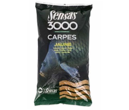 Sensas® Krmítková a vnadící směs Sensas 3000 Jaune - 1 kg