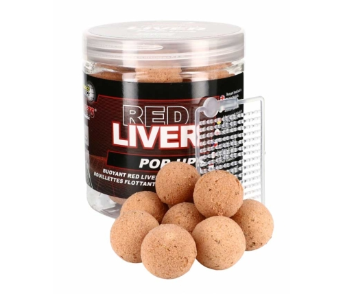 Starbaits® Boilies Starbaits Pop - Up Red Liver