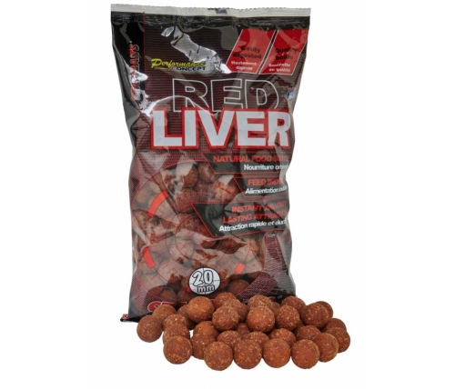 Starbaits® Boilies Starbaits Red Liver - 1 kg