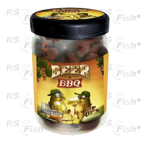 Zebco® Boilies Quantum Radical PoP Up Beer & Barbecue