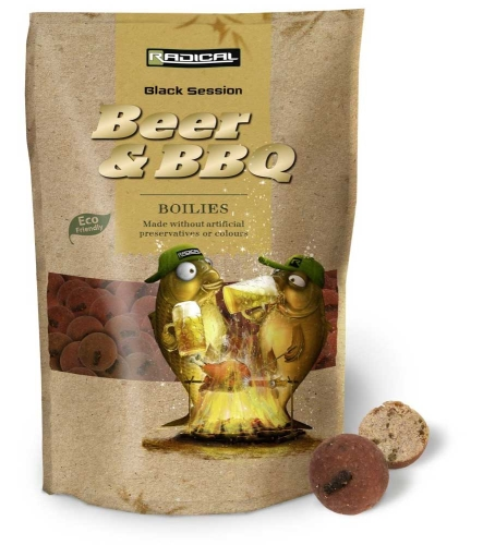 Zebco® Boilies Radical Beer & Barbecue - 1 kg