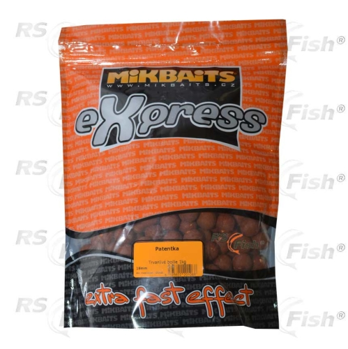 Mikbaits® Boilies Mikbaits eXpress Patentka - 1 kg
