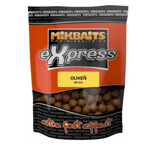 Mikbaits® Boilies Mikbaits eXpress Oliheň - 1 kg