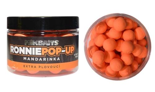 Mikbaits® Boilies Mikbaits Ronnie POP-UP - Mandarinka