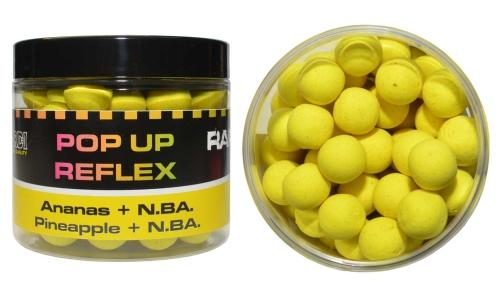 Boilies Mivardi Rapid Pop Up Reflex - Ananas + N.BA.