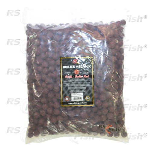 Boilies Extra Carp - Chilli / Robin Red - 5 kg