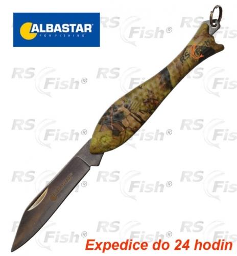 Albastar® Nůž Albastar rybička - camo 8743001