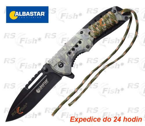 Albastar® Nůž Albastar vyhazovací - camo 8744000