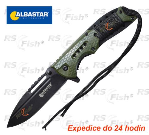 Albastar® Nůž Albastar vyhazovací - zelený 8744001